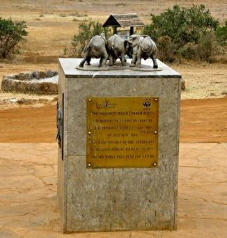 Ivory burning Site Monument