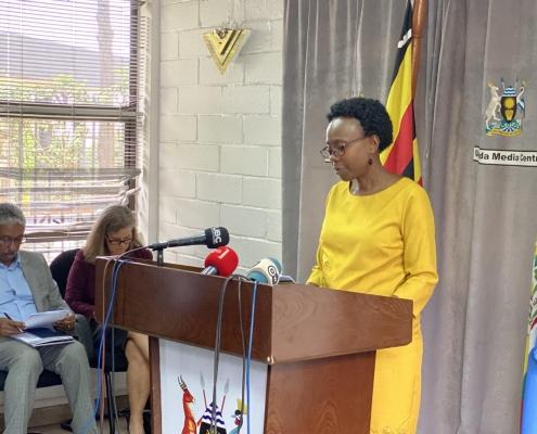 Dr. Ruth Aceng On Corona Virus