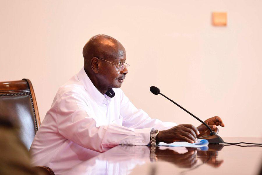 Museveni-corona