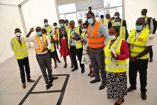 Government tightens Covid19 measures at Entebbe Airport