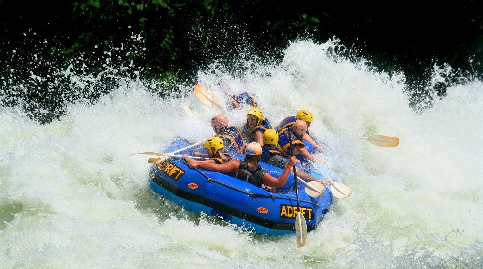 Whitewater Rafting in Jinja